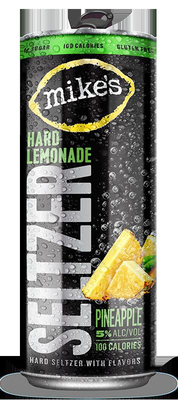 Mike's Hard Lemonade Seltzer - Pineapple flavor